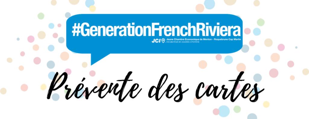 Carte étudiante #GenerationFrenchRiviera : prévente des cartes